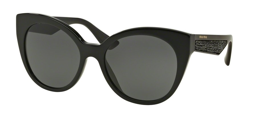 MU 0MU 07RSA Black Sunglasses