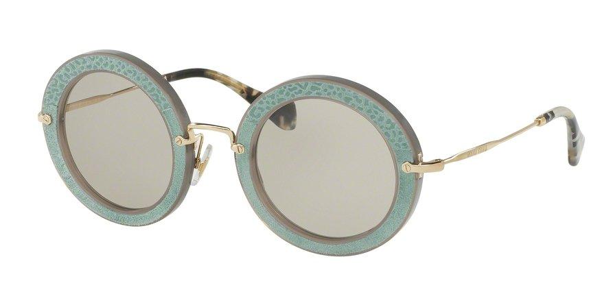 MU 0MU 08RS Green Sunglasses