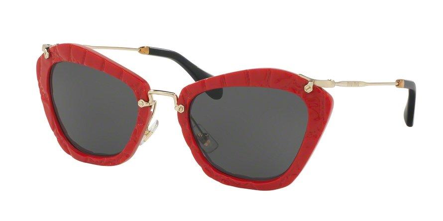 MU 0MU 10NS Red Sunglasses