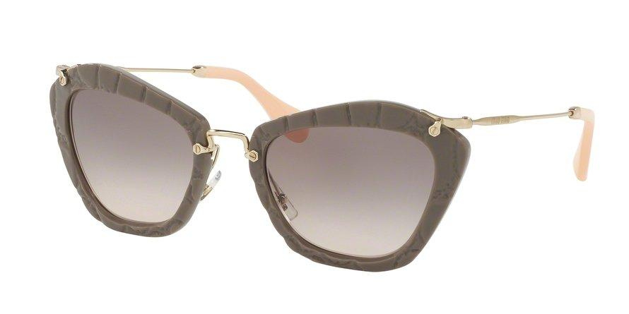 MU 0MU 10NS Light Brown Sunglasses