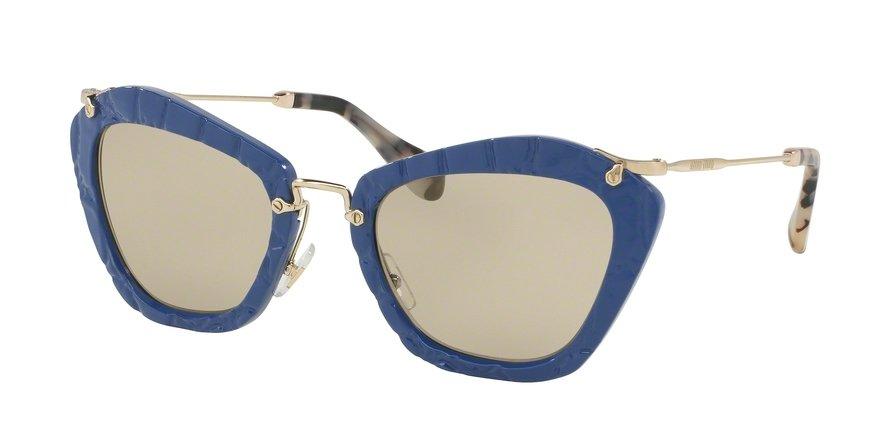 MU 0MU 10NS Blue Sunglasses