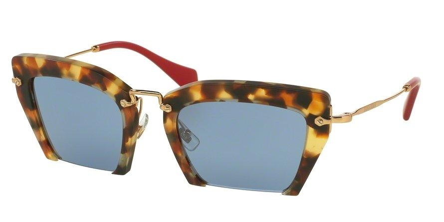 MU 0MU 10QS Havana Sunglasses