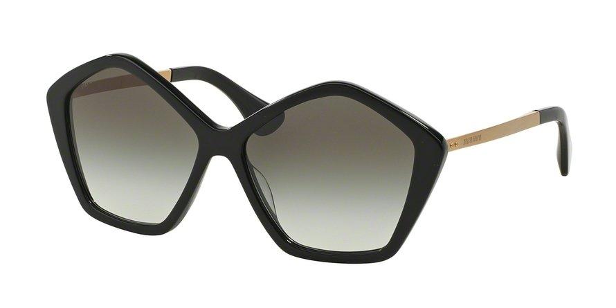 MU 0MU 11NS Black Sunglasses
