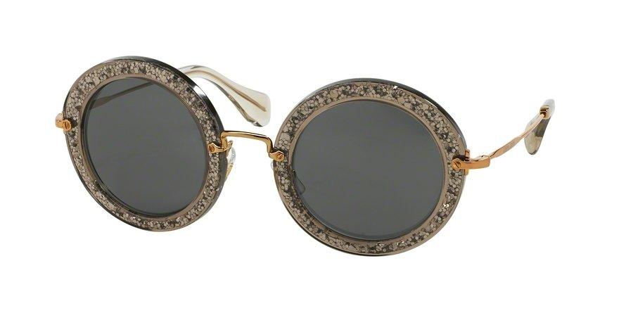 MU 0MU 13NS Grey Sunglasses