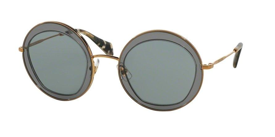 MU 0MU 50QS Grey Sunglasses