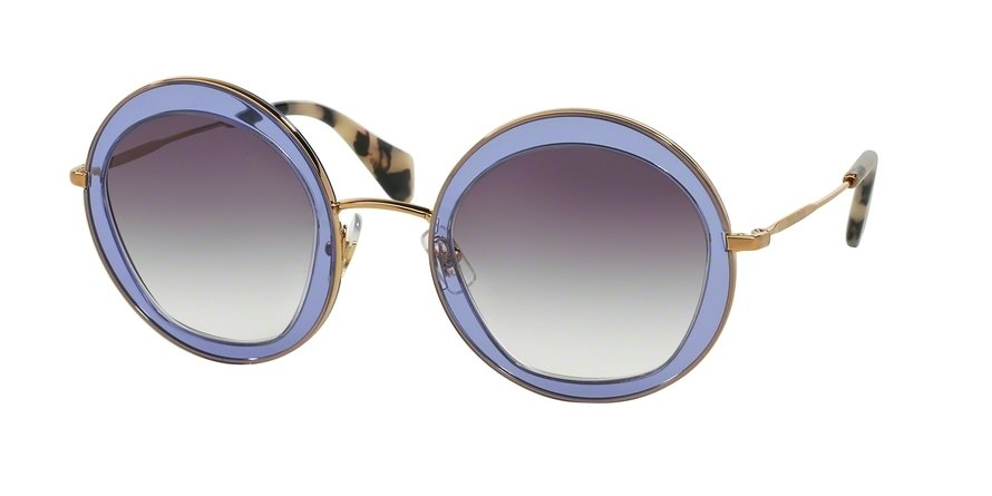 MU 0MU 50QS Violet Sunglasses