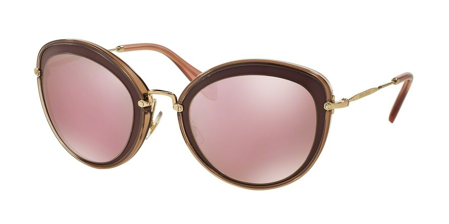 MU 0MU 50RS Bordeaux Sunglasses