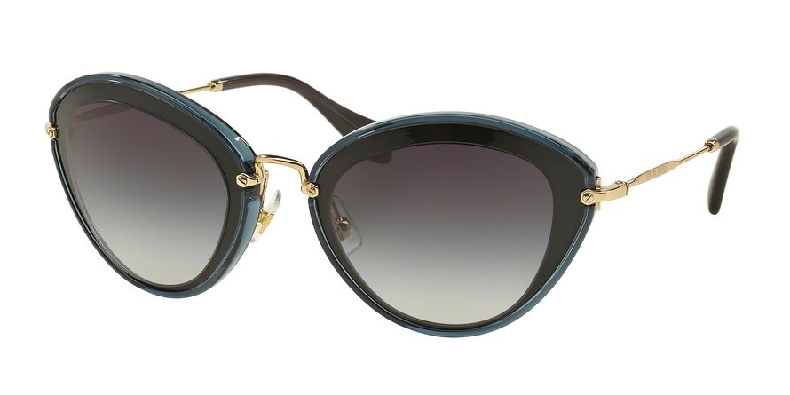 MU 0MU 51RS Black Sunglasses
