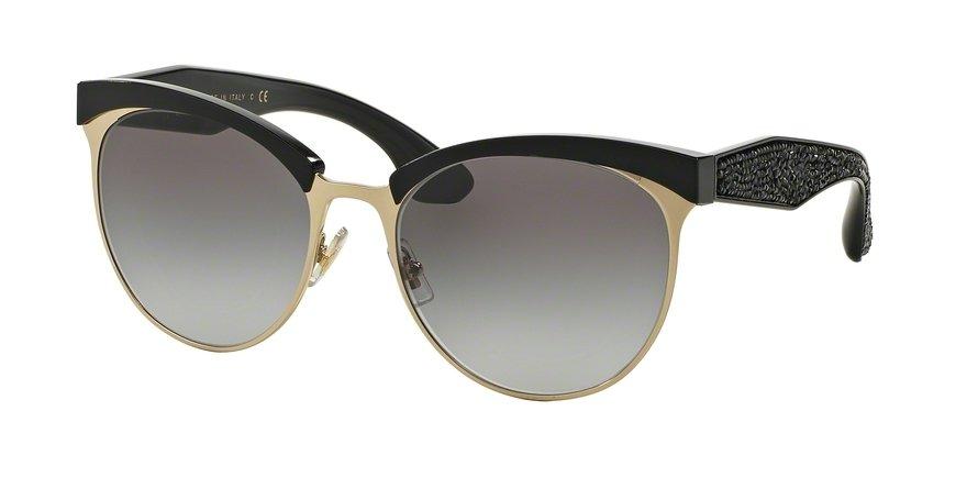MU 0MU 54QS Black Sunglasses