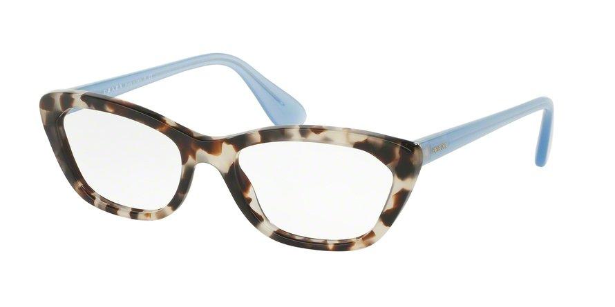 Prada 0PR 03QV Brown Eyeglasses