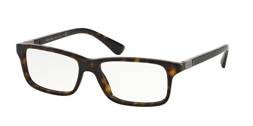 Prada 0PR 06SV Havana Eyeglasses