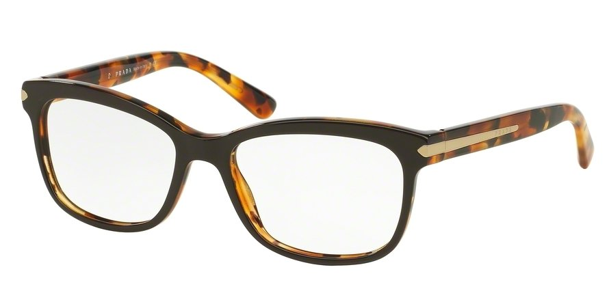 Prada 0PR 10RV Brown Eyeglasses