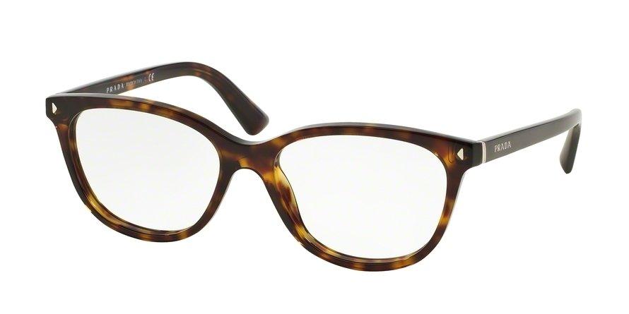 Prada 0PR 14RV Havana Eyeglasses