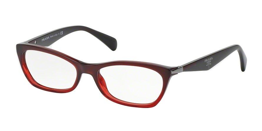 Prada 0PR 15PV Red Eyeglasses