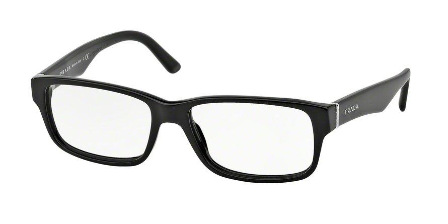 Prada 0PR 16MV Black Eyeglasses