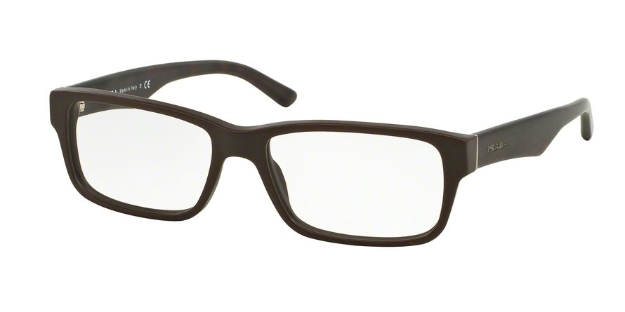 Prada 0PR 16MV Brown Eyeglasses