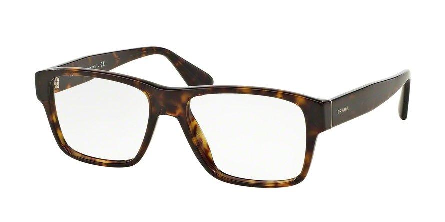Prada 0PR 17SVF Havana Eyeglasses