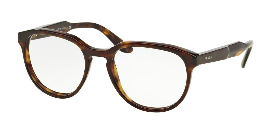 Prada 0PR 18SVF Havana Eyeglasses