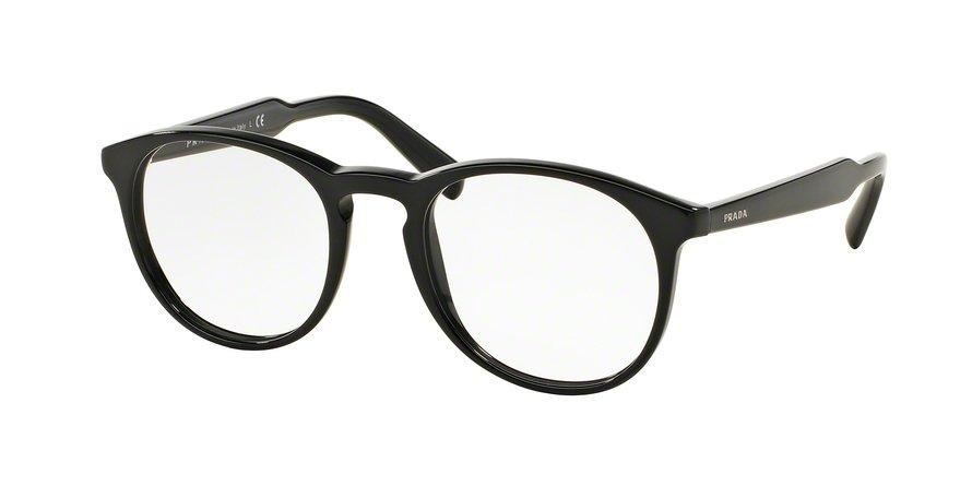 Prada 0PR 19SVF Black Eyeglasses
