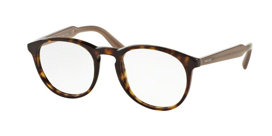 Prada 0PR 19SVF Havana Eyeglasses