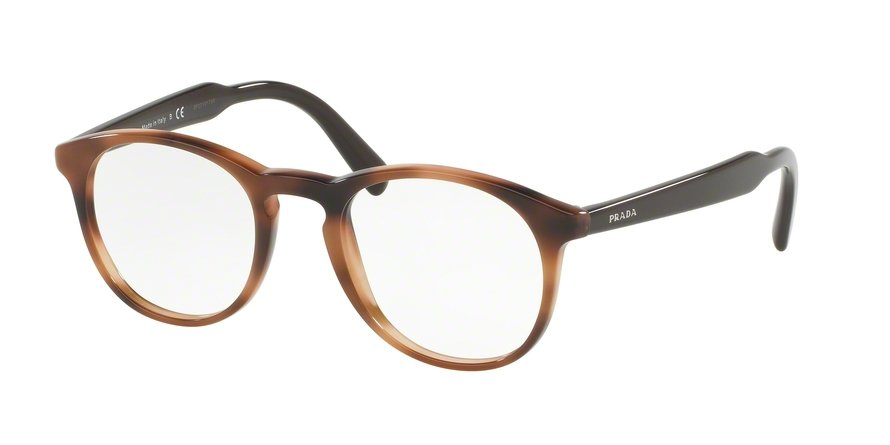 Prada 0PR 19SVF Brown Eyeglasses