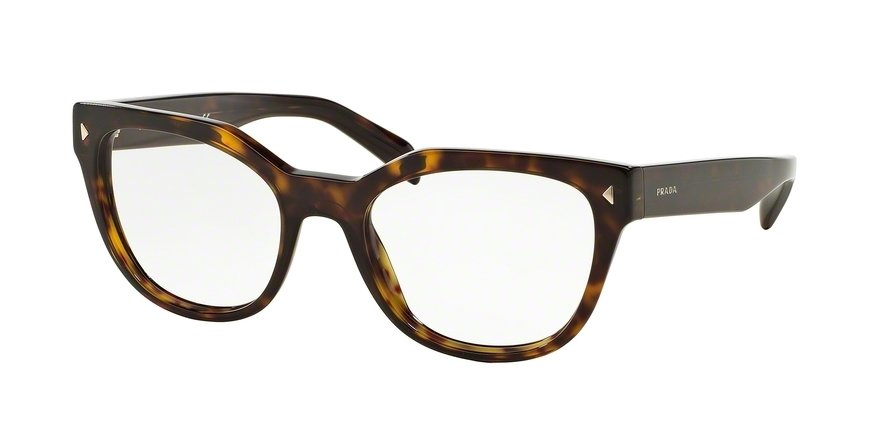 Prada 0PR 21SV Havana Eyeglasses