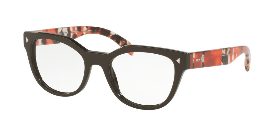 Prada 0PR 21SV Brown Eyeglasses