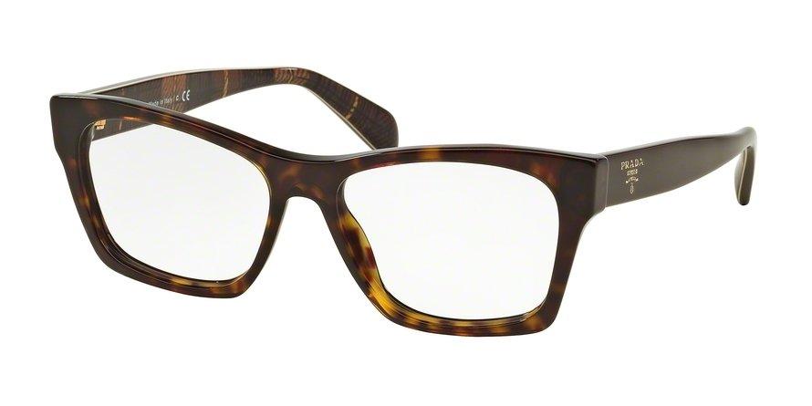 Prada 0PR 22SV Havana Eyeglasses