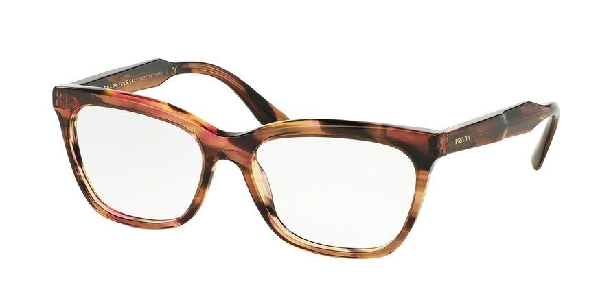 Prada 0PR 24SVF Brown Eyeglasses