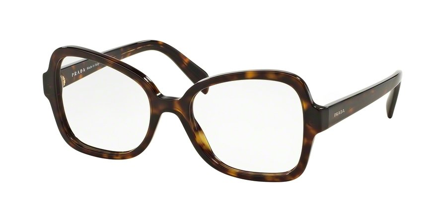 Prada 0PR 25SVF Havana Eyeglasses