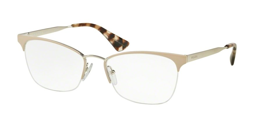 Prada 0PR 65QV Light Brown Eyeglasses