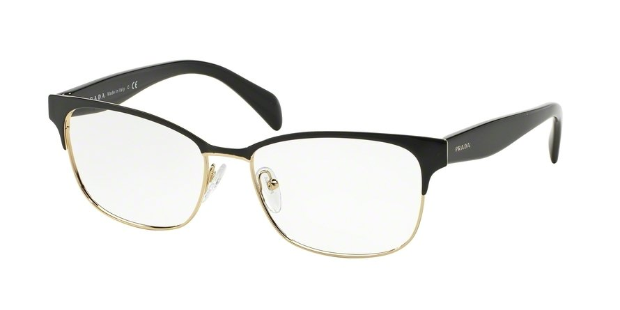 Prada 0PR 65RV Black Eyeglasses