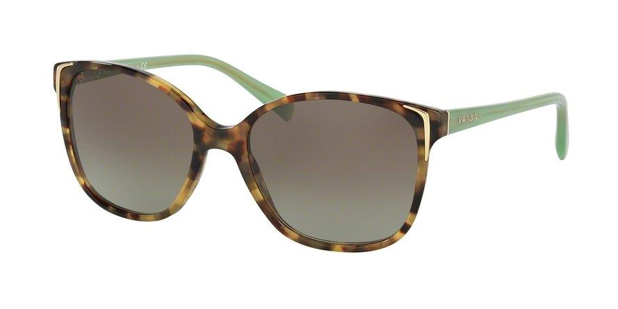Prada 0PR 01OS Green Sunglasses