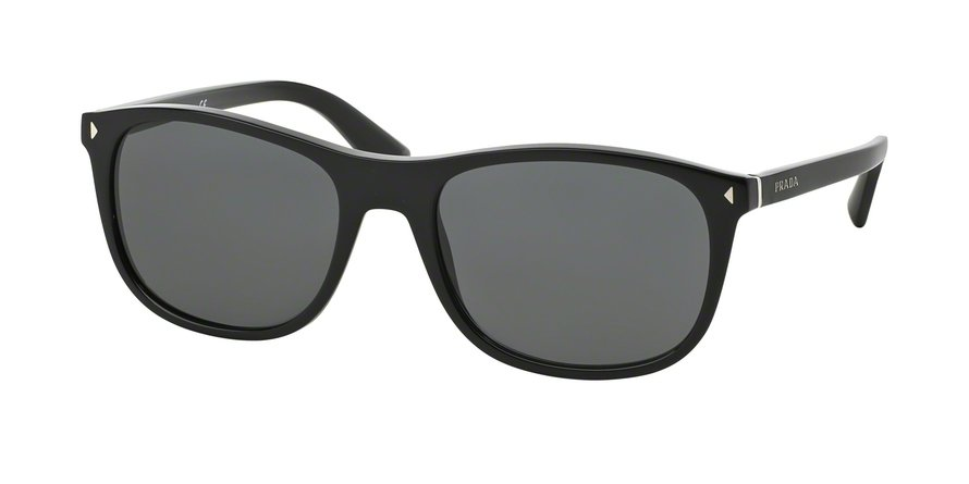 Prada 0PR 01RS Black Sunglasses