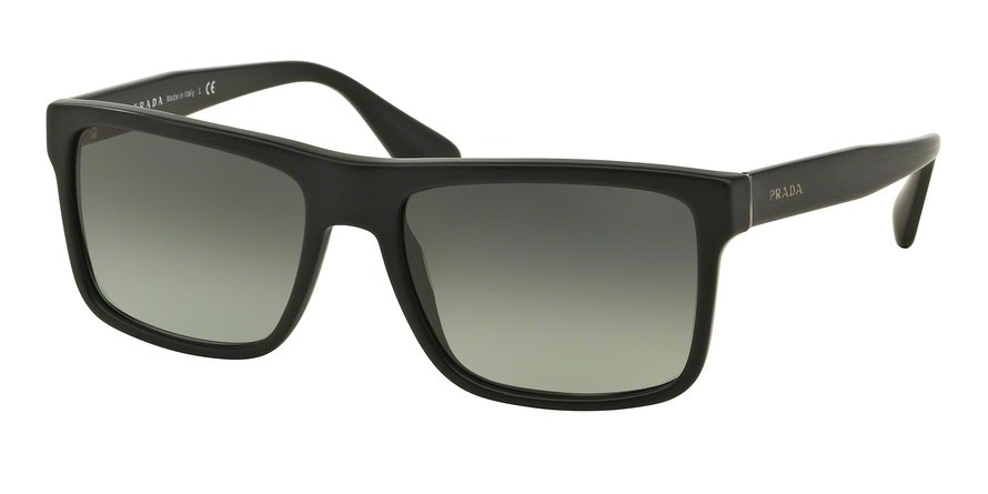 Prada 0PR 01SSF Black Sunglasses