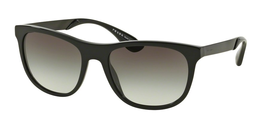 Prada 0PR 04SSF Black Sunglasses