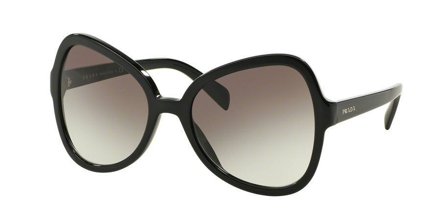 Prada 0PR 05SSF Black Sunglasses