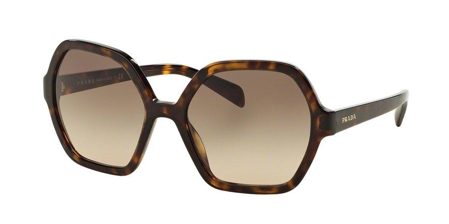 Prada 0PR 06SSF Havana Sunglasses