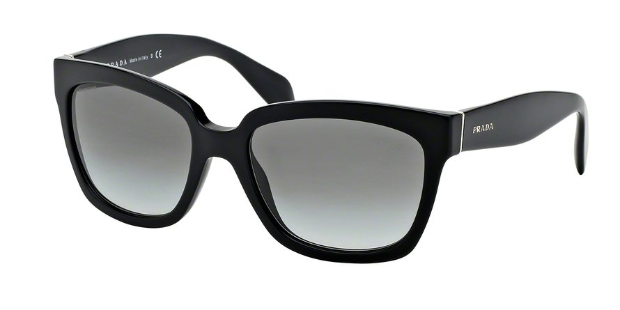 Prada 0PR 07PS Black Sunglasses
