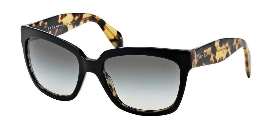 Prada 0PR 07PS TOP BLACKMEDIUM HAVANA Sunglasses