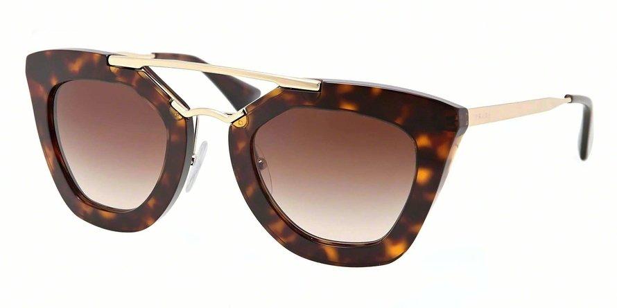 Prada 0PR 09QS Havana Sunglasses