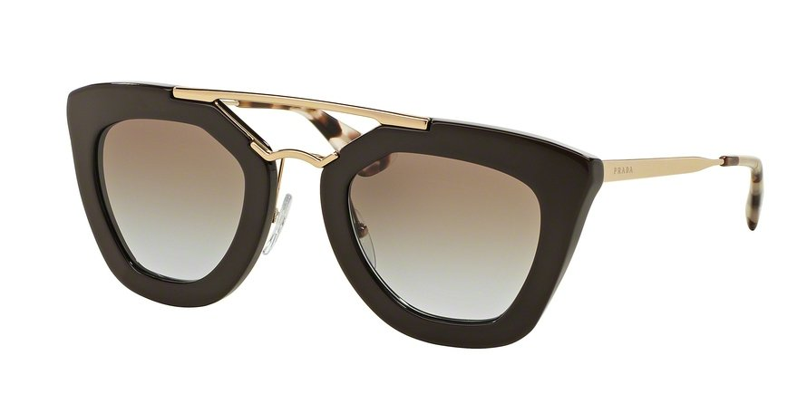 Prada 0PR 09QS Brown Sunglasses