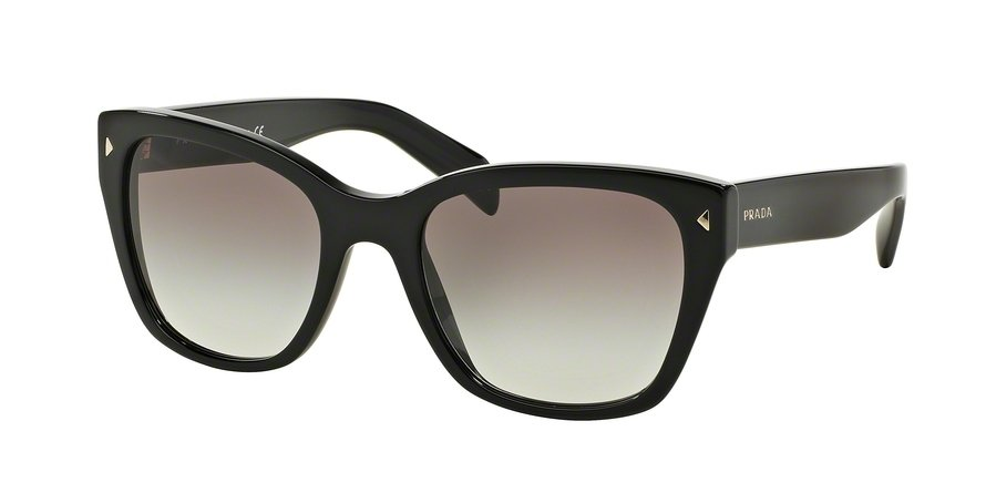 Prada 0PR 09SSF Black Sunglasses