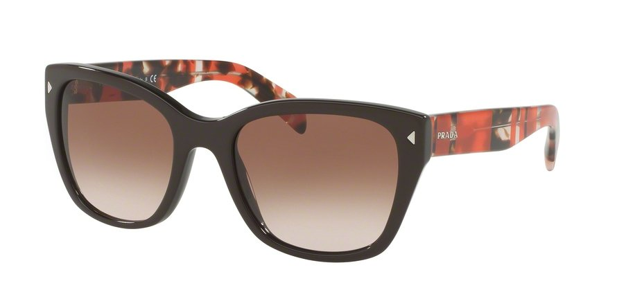 Prada 0PR 09SSF Brown Sunglasses