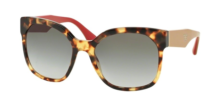 Prada 0PR 10RS Havana Sunglasses