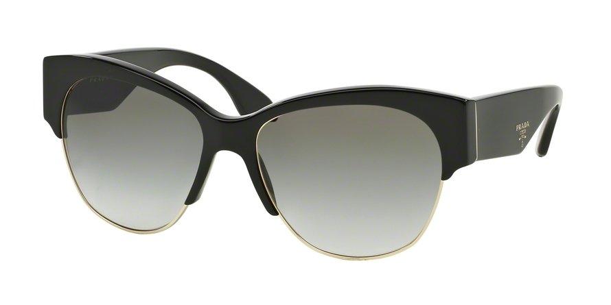 Prada 0PR 11RS Black Sunglasses