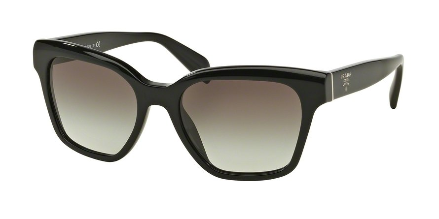 Prada 0PR 11SSF Black Sunglasses