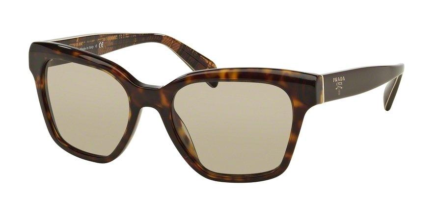 Prada 0PR 11SSF Havana Sunglasses