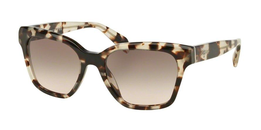 Prada 0PR 11SSF Brown Sunglasses