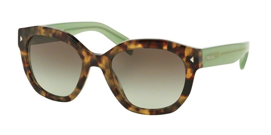 Prada 0PR 12SS Green Sunglasses